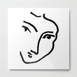 Nadia ( after) Matisse Metal Print