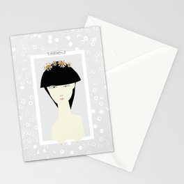 breast impress no 5 Stationery Cards