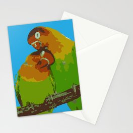 LOVE BIRDS OF A FEATHER Stationery Cards