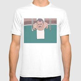 Herman Blume (Bill Murray) on Diving Board (Rushmore) T-shirt
