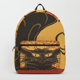 Tournee du Chat Noir De Rodolphe Salis Vector Backpack