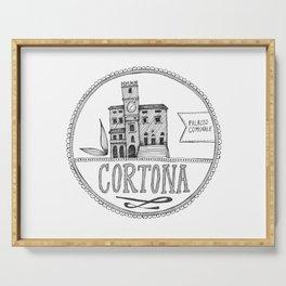 Palazzo Comunale, Cortona Serving Tray