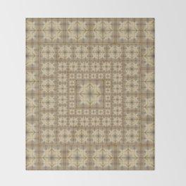 Morocco Mosaic 4 Throw Blanket