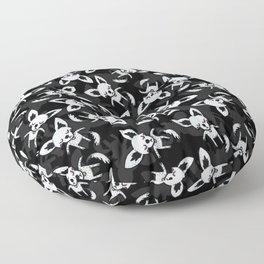 Litter of Puppies Floor Pillow