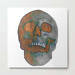 Fading Into Time Metal Print