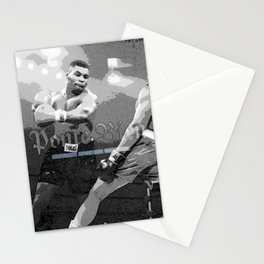 𝕻𝖔𝖓𝖙𝖊 𝕭𝖎𝖊𝖓 - Ponte Bien - Society6 Online Decorations - Mike Tyson - Ali - Boxing 2 Stationery Cards