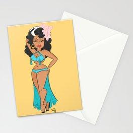 Tongolele Rumbera  Stationery Cards
