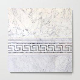 Greek Marble 2 Metal Print