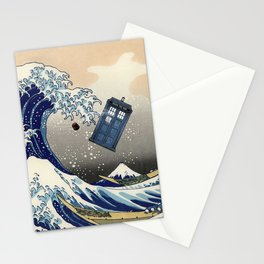 TARDIS at Kanagawa Stationery Cards