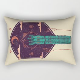 The Tower Azure Rectangular Pillow