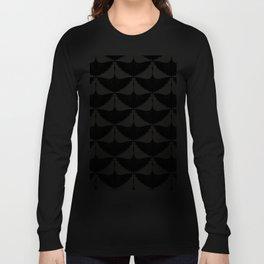 CRANE DESIGN - pattern - Black and White Langarmshirt