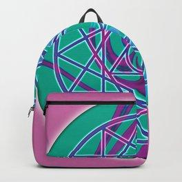 Sacred Geometry Mandalas 7 Backpack
