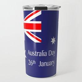 Australia Day Flag Travel Mug