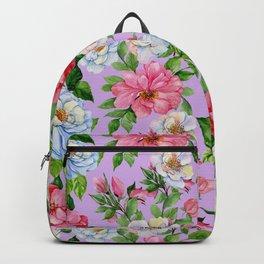 Vintage Floral Pattern No. 9 Backpack