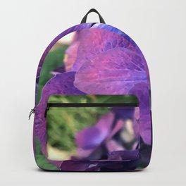 Violet, Purple and Pink Elegant Flowers Backpack
