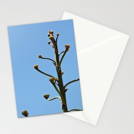 Simple Plant and Blue Sky Stationery Cards