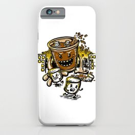Hot Cocoa Monster iPhone Case
