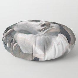 """Michelangelo """"David"""" (head)(2) Floor Pillow"""