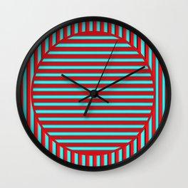 Barred Wall Clock