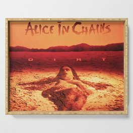 alice in chains dirt sand tour 2020 2021 ngapril Serving Tray