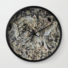 Scarred River Granite Wall Clock