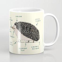 Anatomy of a Hedgehog Kaffeebecher