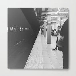 Canal Street Subway Metal Print