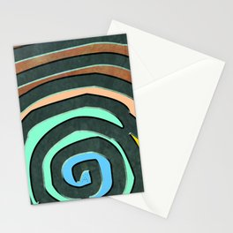 Tribal Maps - Magical Mazes #02 Stationery Cards