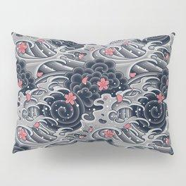 Japanese Tattoo Pillow Sham