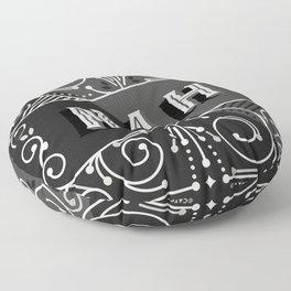 Nah – Black & Grey Palette Floor Pillow