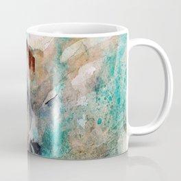 Abstract Deer Watercolor Coffee Mug