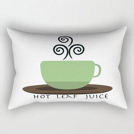 Hot Leaf Juice Rectangular Pillow