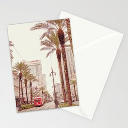 Tram in Nola Stationery Cards