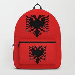 Flag of Albania - Albanian Flag Backpack