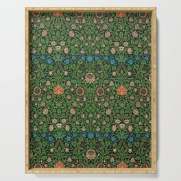 William Morris - Violet And Columbine - Digital Remastered Edition Serving Tray