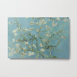 Vincent van Gogh - Almond Blossoms (1890) Metal Print