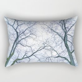 Abstract tree trunks Rectangular Pillow