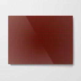 MacDuff Tartan Metal Print