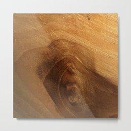 Wood Grain Wood Texture Metal Print