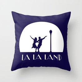 La la Land movie design Throw Pillow