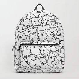 Dog Doodle Art Backpack