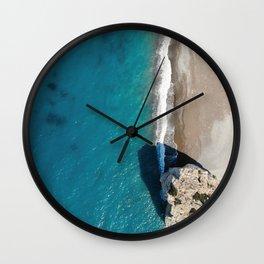 Colours of Summer - Petra tou Romiou Wall Clock