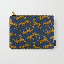 Tigers (Navy Blue and Marigold) Carry-All Pouch
