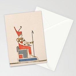 Pharoah of Egypt Stationery Cards