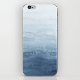 Indigo Abstract Painting   No. 4 iPhone Skin