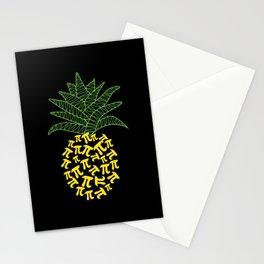 Pi-Neapple Pineapple Stationery Cards