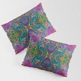 Buddha 5 geometry III Pillow Sham