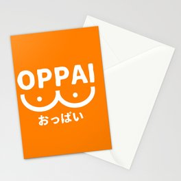 Oppai Stationery Cards
