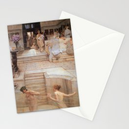 A Favourite Custom 1909 by Sir Lawrence Alma Tadema | Reproduction Stationery Cards