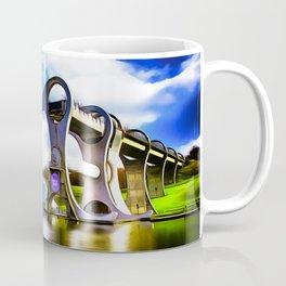 The Falkirk Wheel (Painting) Coffee Mug